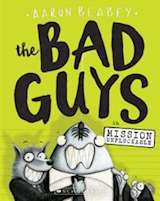Omslagsbild till boken The Bad Guys in Mission Unpluckable
