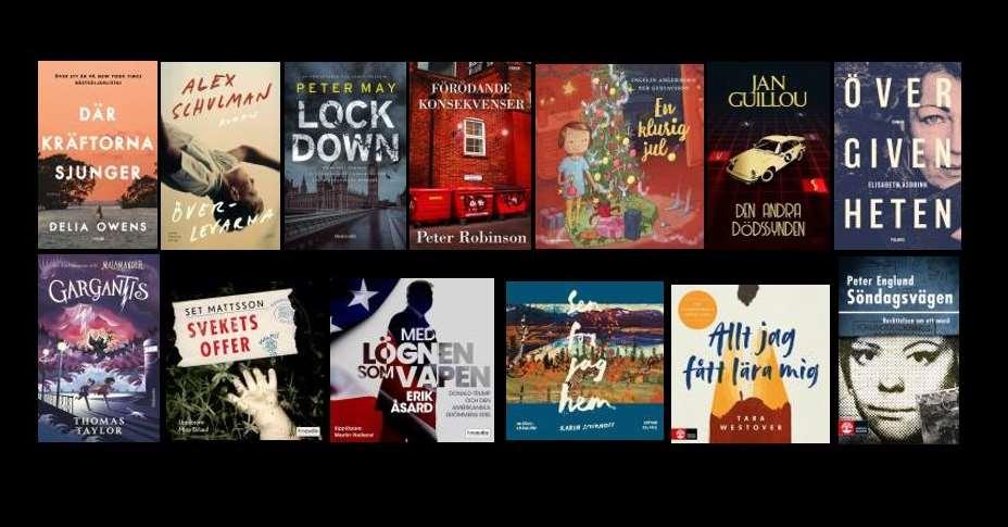 Bilder på e-böcker och e-ljudböcker